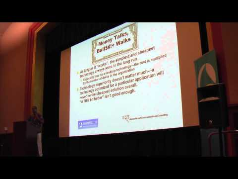 Sharkfest 2013 - Keynote: Musings Of An Early Networker (Ric