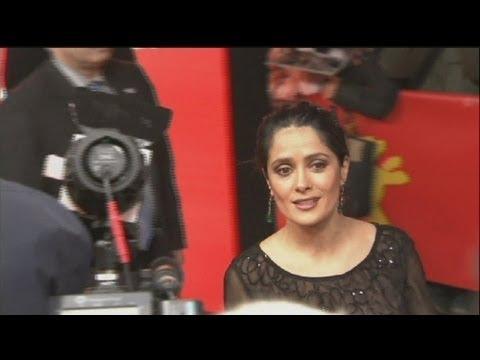 euronews cinema - Salma Hayek à la Berlinale.