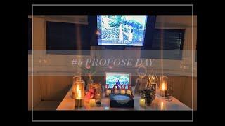 프러포즈데이| 한달을 준비한 이벤트, 나랑 결혼해줄래?…