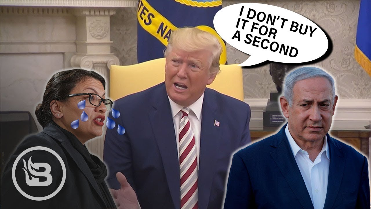 """Trump on Tlaib's Tearful Israel Remarks: """"I Don't Buy It for a Second"""""""