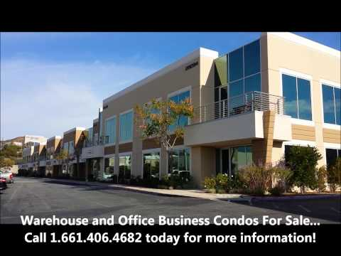 Warehouse For Sale - Industrial Office Business Condos - Santa Clarita and Valencia CA