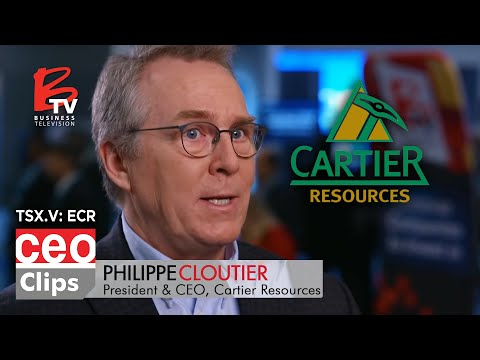 CEO Clip: Philippe Cloutier | Cartier Resources | 4 Deposits in One of the Best Mining Jurisdictions