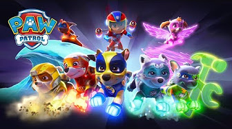 paw patrol mighty pups 2018 movie new videos - youtube