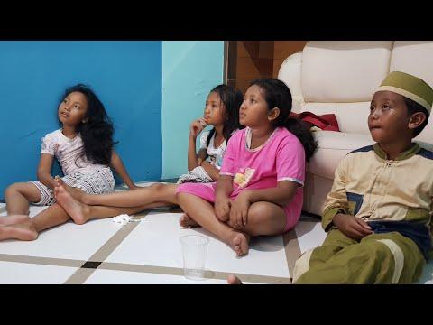 """REAKSI LUCU Anak Melihat Film Horor • REACTION • """"Jejak Tertinggal"""" Film Pendek Batam Short Movie ID"""