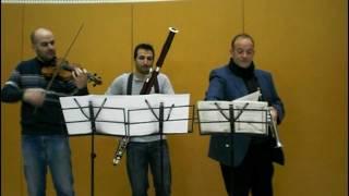 -Rompe Sprezza- y -Faro la vendetta- de A. Scarlatti (con Trompeta, Violin y Fagot)