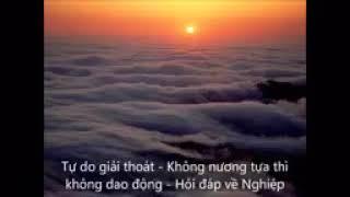 ❤Tự do giải thoát ❤ Không nương tựa thì không dao động ❤ Hỏi đáp về Nghiệp❤ HT Viên Minh giảng❤