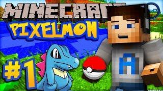 Minecraft PIXELMON - Episode #1 w/ Ali-A! -