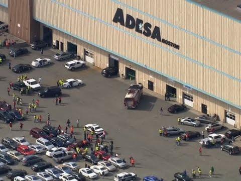 SUV Hurtles Through Massachusetts Auction