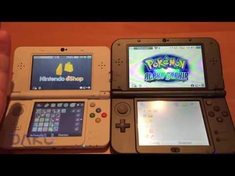 Vergleich: New Nintendo 3DS vs. New 3DS XL (Hands on) [HD60 & Deutsch]