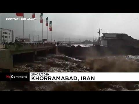شاهد: أمطار إيران الغزيرة تودي بحياة 18 شخصا وتلحق الضرر بآلاف المنازل…  - نشر قبل 2 ساعة