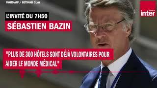 """Sébastien Bazin : """"Plus de 300 hôtels sont déjà volontaires pour aider le monde médical"""""""