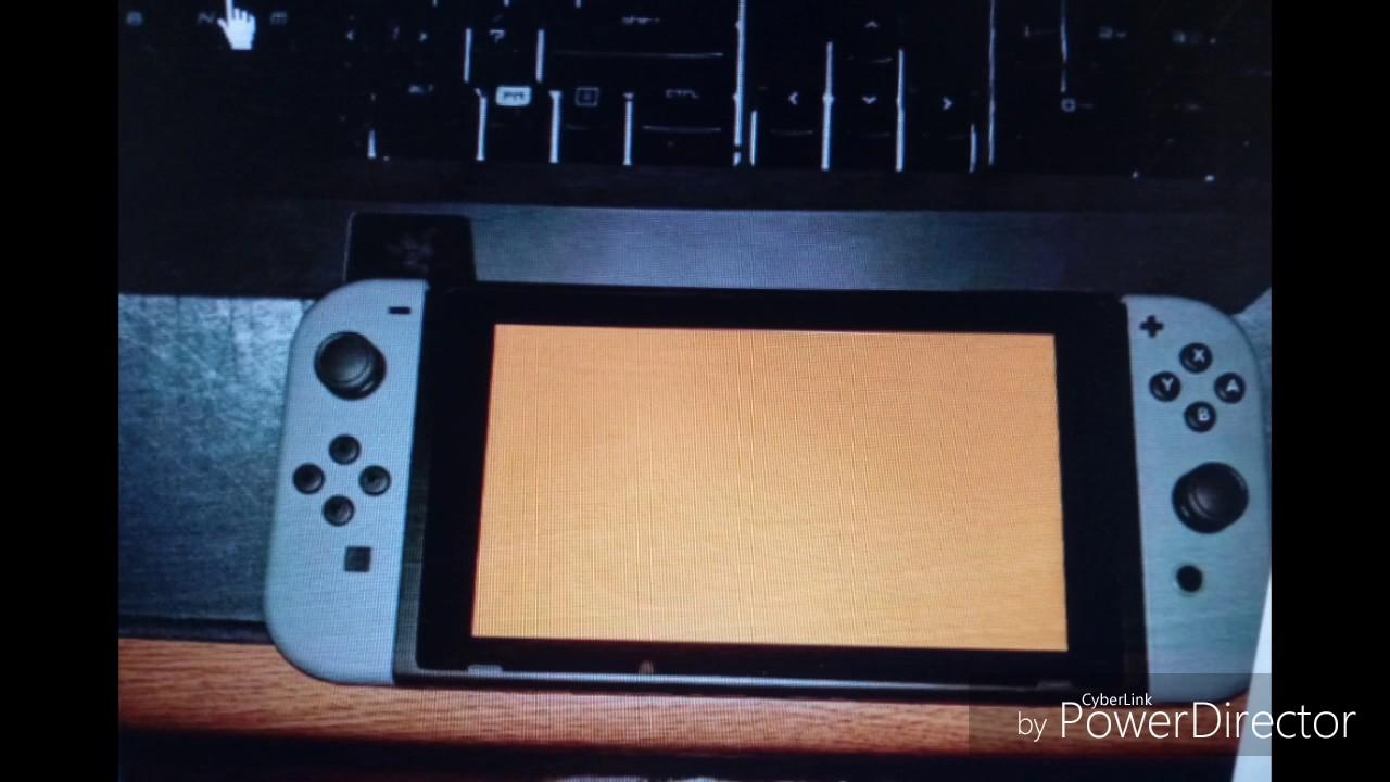 Nintendo Switchs Broken Orange Screen Of Death Fix
