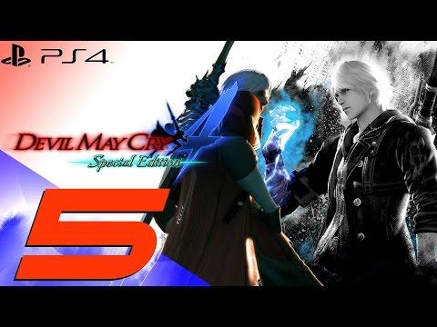 Devil May Cry 4 Special Edition - Parte #5: Nero VS Dante segundo FIGHT!