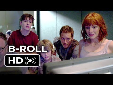 Jurassic World B-ROLL (2015) - Chris Pratt, Bryce Dallas Howard Movie HD