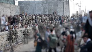 video: Afghan soldier killed in Kabul airport gunfight as US dashes to meet evacuation deadline