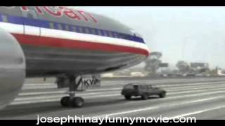 American  Airlines Emergency Landing in  Expressway