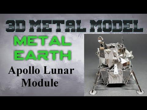 Metal Earth Build - Apollo Lunar Module
