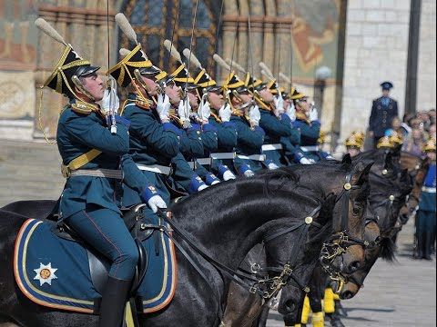 Moscow Kremlin The ceremonial changing of the guard   2016