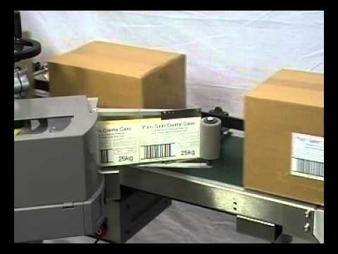 Box Label Applicator Youtube