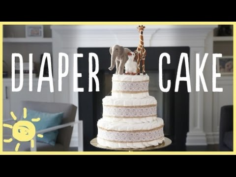 DIY | MODERN DIAPER CAKE | Oh Joy Digital Baby Shower!