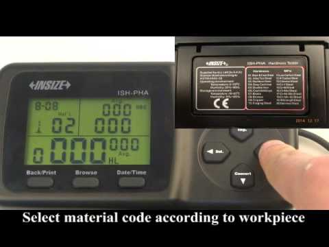 HARDNESS TESTER PORTABLE - Preparation - 889207 - Part 1 of 2