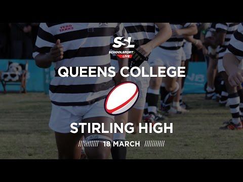 Border Schools Day: Queens XV vs Stirling XV, 18 March 2017