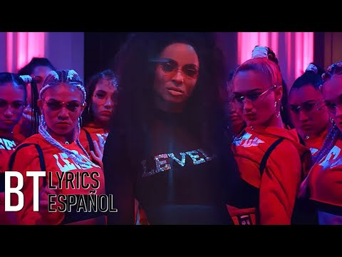 Ciara - Level Up (Lyrics + Español) Video Official