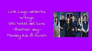 Lirik Lagu Ost Hotel del luna dan Terjemahannya
