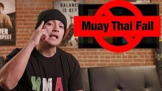 Muay Thai DOESN'T WORK in the Streets!!