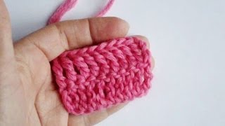 Вязание крючком - Урок 7. Столбик с двумя накидами