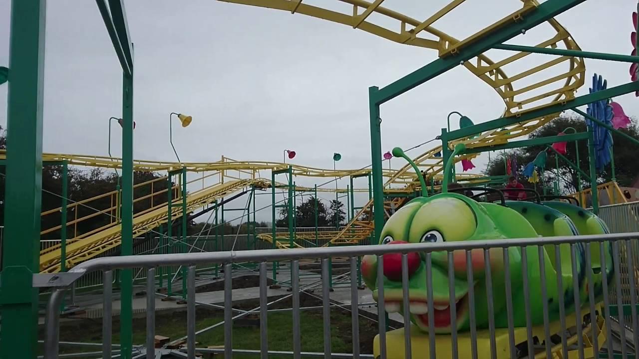 Caterpillar Coaster Ride At Animal Farm Adventure Park Brean