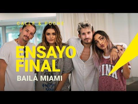 Ensayo Baila Miami Calle y Poché ft Mau y Ricky
