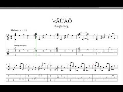 Guitar sungha jung guitar tabs : Eyes, Nose, Lips Tae Yang (BIGBANG) - TAB Guitar Sungha Jung - YouTube