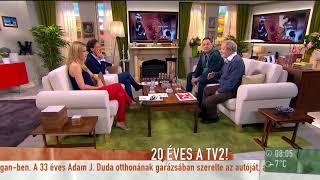 Pachmann Péter ˝kulisszatitkokat˝ árult el a 20 éves TV2 indulásáról - tv2.hu/mokka