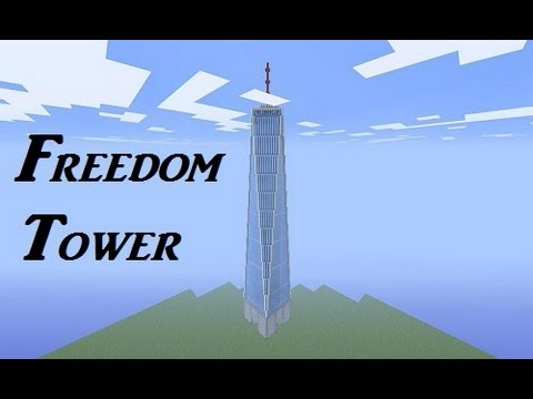 Minecraft Freedom Tower + Tutorial