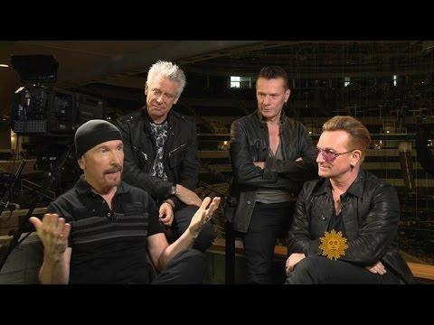 U2 on The Edge's stage mishap