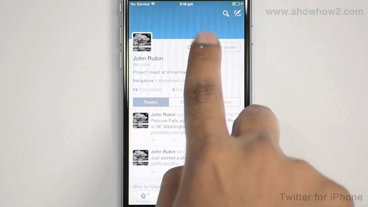 Upload video to twitter from phone