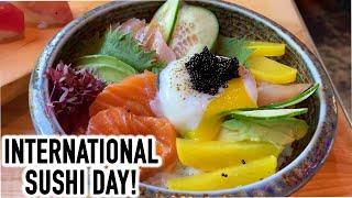 Celebrating International Sushi Day With Sustainably Sourced Sushi   QP Eats Food Vlog EP. 17