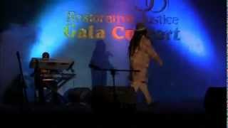 Eric Donaldson Live 1 Of 3 At Restoration Of Justice Gala Concert 2012  Kingston, Jamaica