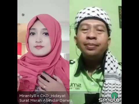 Surat merah asmidar darwis Miranty Ckd  Hidayát