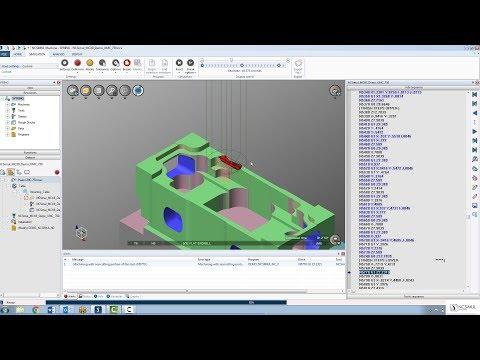 Rebuild material and resume simulation in NCSIMUL Machine  | Tutorial