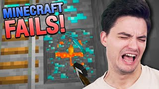 OS MAIORES FAILS DO MINECRAFT