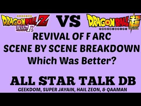 Dragon Ball Z Resurrection F Movie vs. Super Arc SCENE BY SCENE BREAKDOWN - All Star Talk DB