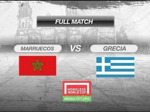 MOROCCO - GREECE men day 9, HWC 2012
