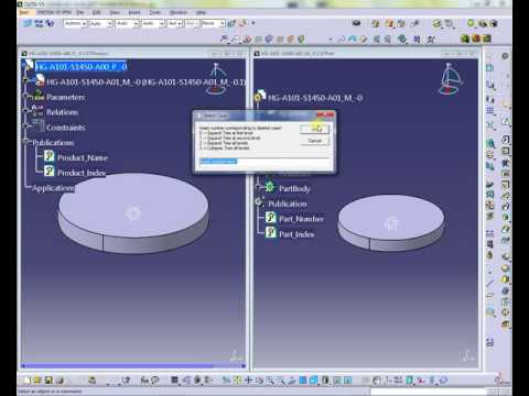 Select cases through a input box - Catia macro