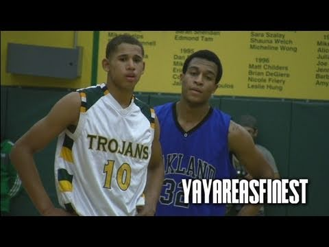Castro Valley vs. Oakland High CRAZY Hyped Game Mix!!!