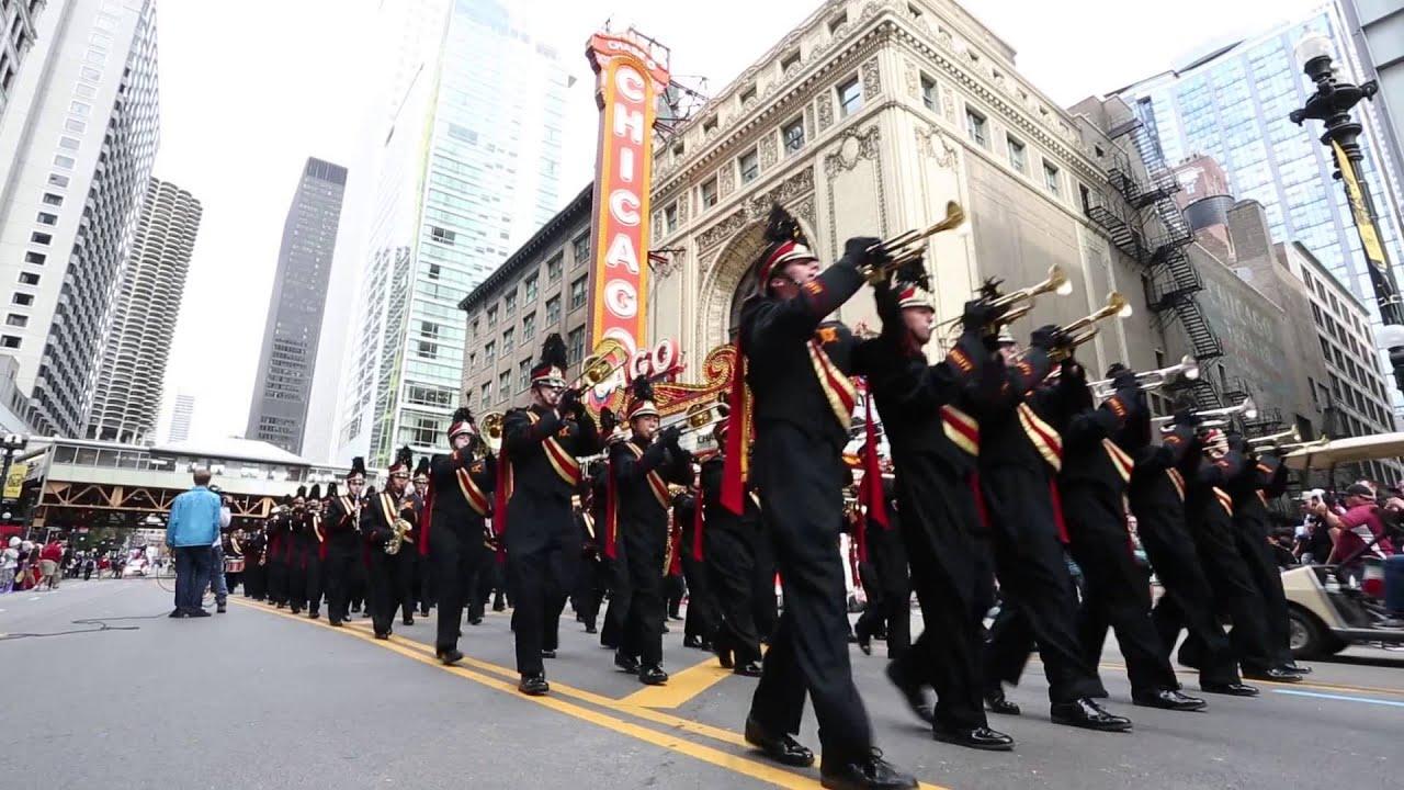 2015 Chicago Columbus Day parade. - YouTube