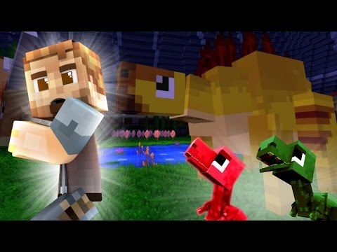 Minecraft Jurassic World #6: EATING PEOPLE FOR JUSTICE! (Minecraft Roleplay)