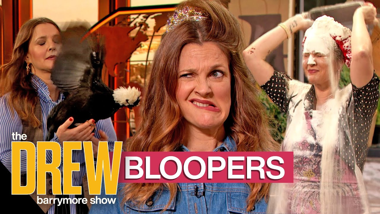 Hilarious Blooper Moments from The Drew Barrymore Show Season 1