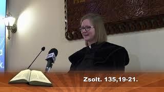 Karcagi Református istentisztelet 2020.01.19.